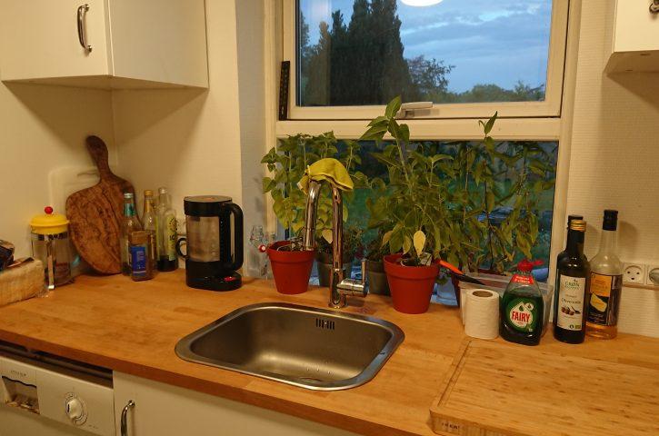 Køkkenet: Det færdige resultat