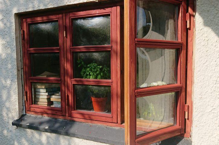 Sådan reparerede vi vores gamle vinduer